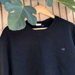 Calvin Klein Jeans plain black sweater